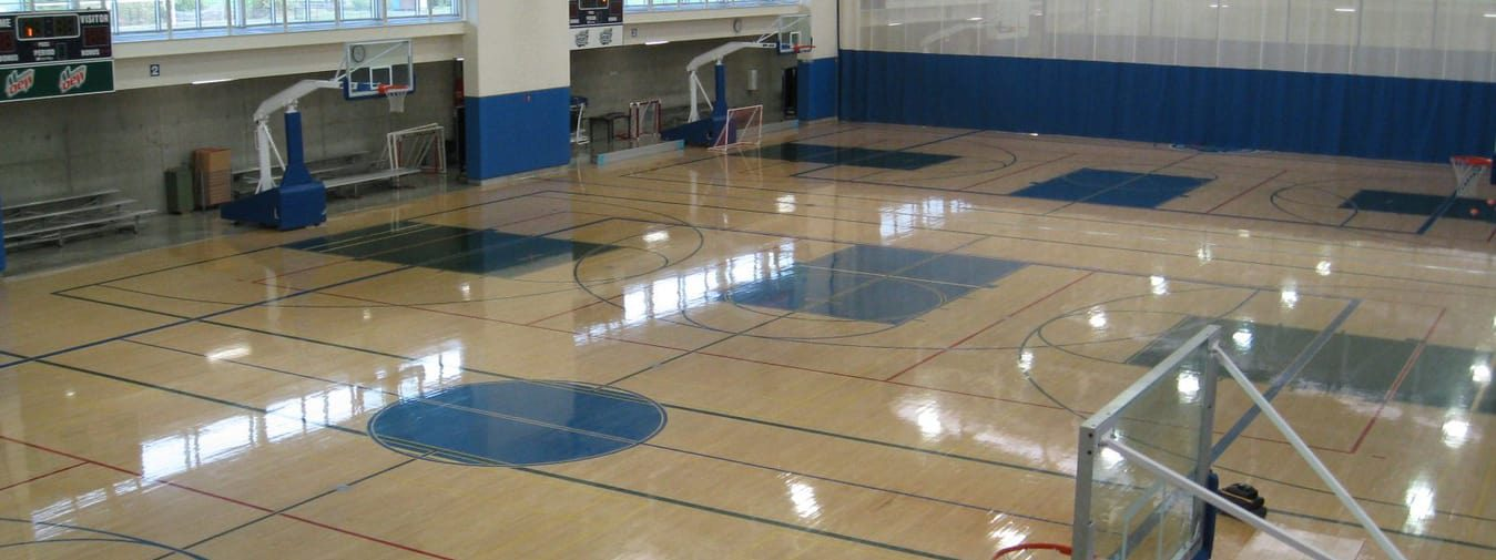 wood gym flooring